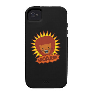 OWLIE BOO - Lion iPhone 4 Cover