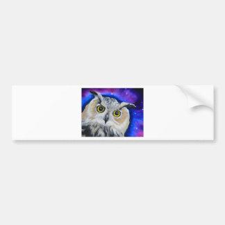 owlnight car bumper sticker