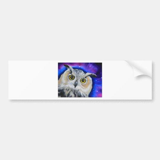 owlnight bumper sticker