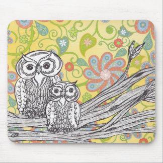 Owls 03 Mousepad