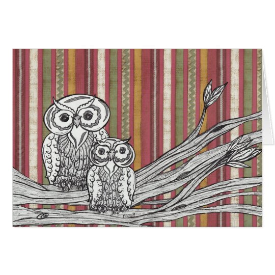 Owls 06 Gift card