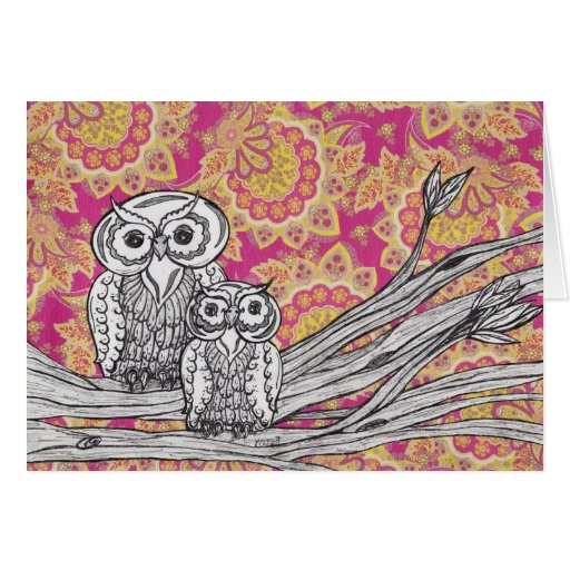 Owls 36 Card