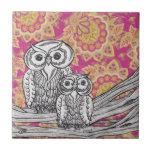 Owls 36 Tile
