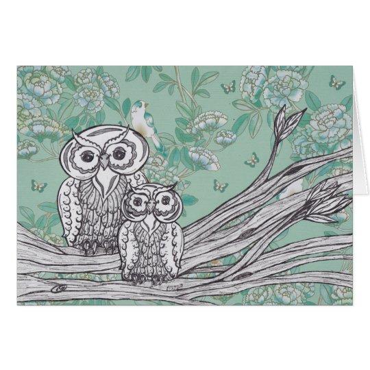 Owls 39 card
