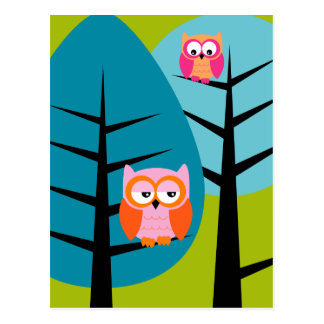 owls 4 Postcard