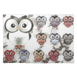 Owls All-Over Placemat