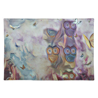 Owls and Butterflies Placemat