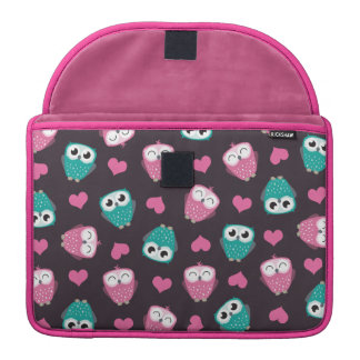 Owls and Hearts Sleeves For MacBook Pro