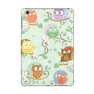 Owls Apple iPad Mini 2 and iPad Mini 3