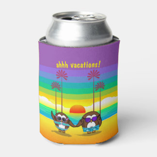 owls are back to vacations! can cooler