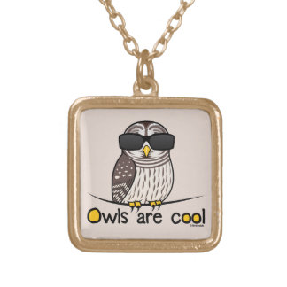 Owls are cool necklaces