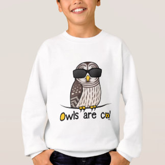 Owls are cool! sweatshirt
