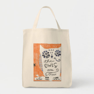 Owls are not what they seem-Twin Peaks Tote Bag
