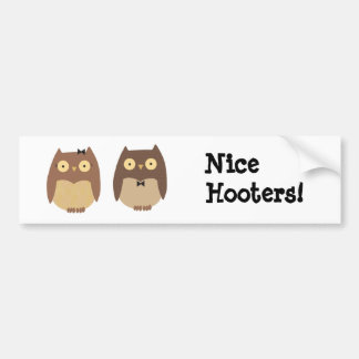 Owls Bumper Sticker