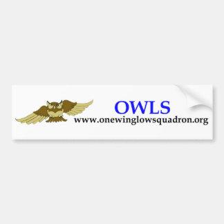 OWLS bumper sticker