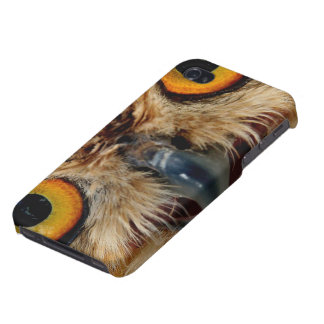 Owls Eyes Cases For iPhone 4