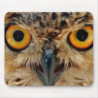 Owls Eyes Mouse Pad