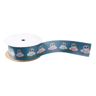 Owls Forever! Satin Ribbon