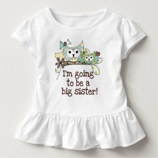 Owls Future Big Sister Toddler T-Shirt
