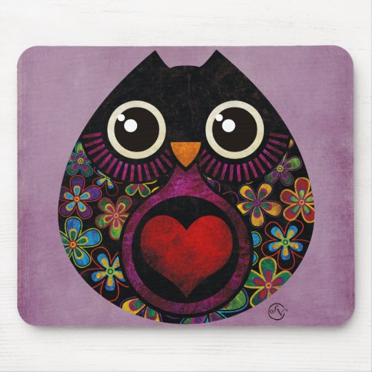 owl's hatch mouse pad