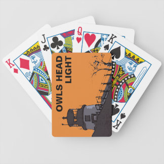 OWLS HEAD LIGHT BICYCLE PLAYING CARDS