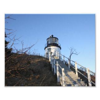 Owl's Head Lighthouse 2 Photo Print