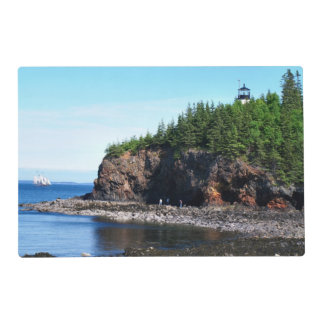 Owls Head Lighthouse, Maine Laminated Placemats Laminated Place Mat