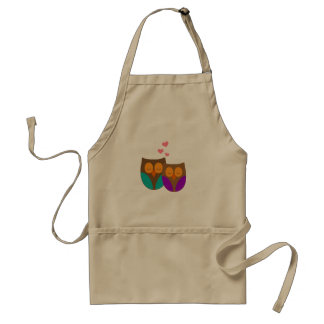 Owls in a Nest Standard Apron