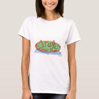 Owls in Broccoli T-Shirt