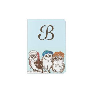 Owls in the Hood Passport Holder