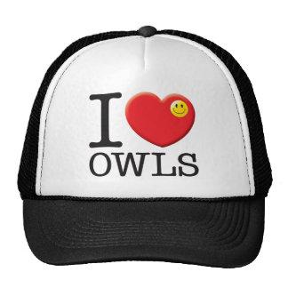 Owls Love Mesh Hats