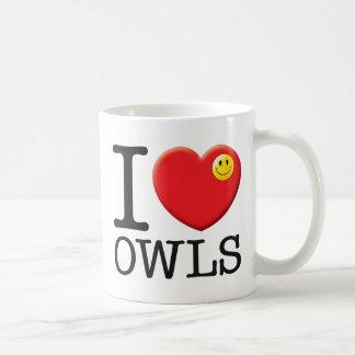 Owls Love Coffee Mug