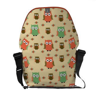 owls courier bag