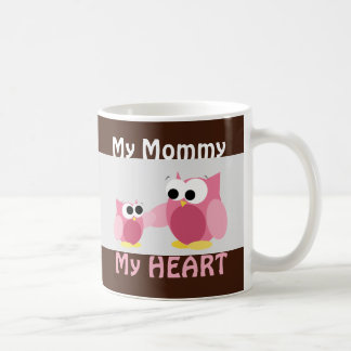 Owls - My Mummy, My HEART - Mother's Day Mug