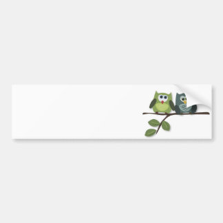 Owls Nest Bumper Sticker