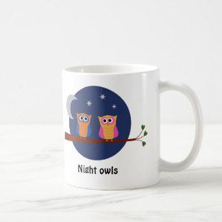 Owls night and day cute coffee mug
