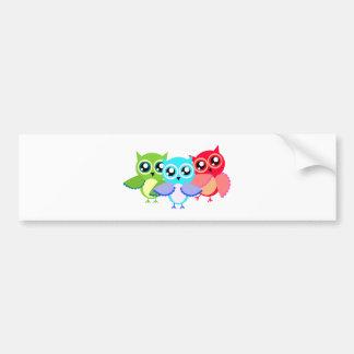 Owls owls bumper stickers
