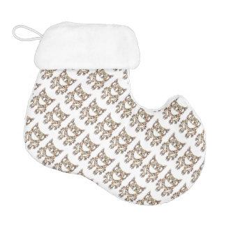 Owls Owls Owls made from Owls Stocking Elf Christmas Stocking