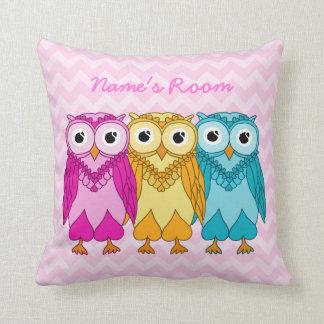 Owls Pillow: Custom Cushion