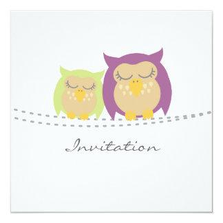 Owls Reunion Invitation Announcement