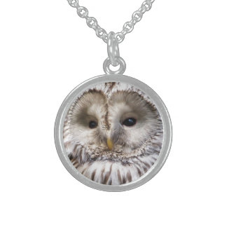 OWLS STERLING SILVER NECKLACE