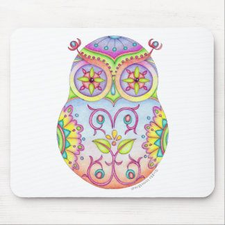 'Owlushka' Dreaming Mouse Pad