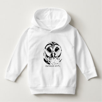OwlWatch - 2017 - Owl Face (B&W) Toddler Hoodie