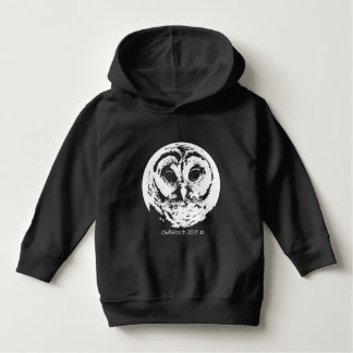 OwlWatch - 2017 - White Owl Face -Toddler Hoodie