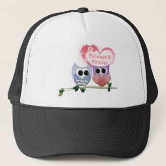 Owlways and Forever, Cute Owls Trucker Hat