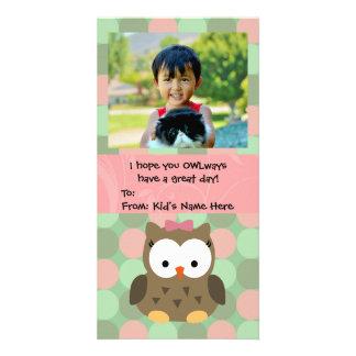 OWLways Valentine's Day Kids Valentine Photo Cards