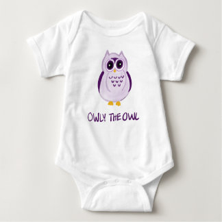 Owly the Owl -Baby Bodysuit