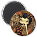 """Owlyn in Autumn"" Magnet"