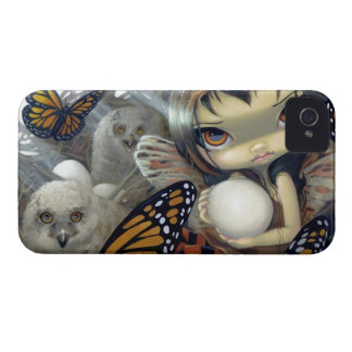 """Owlyn in the Nest"" iPhone 4 Case"