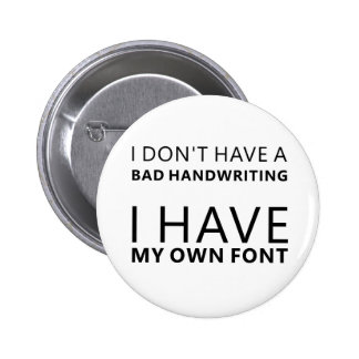 Own Font Buttons